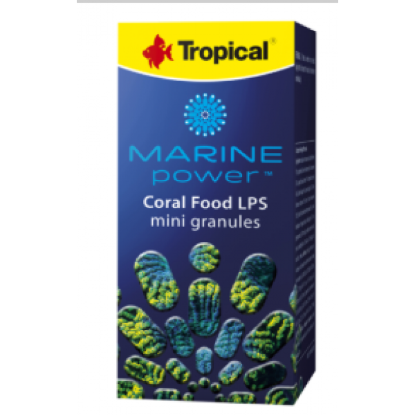 TROPICAL MARINE POWER CORAL FOOD LPS MINI GRAN  70G