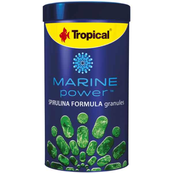 TROPICAL MARINE POWER SPIRULINA GRANULES 150G