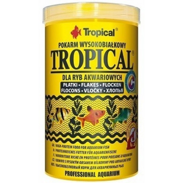 TROPICAL TROPICAL FLAKES 100G